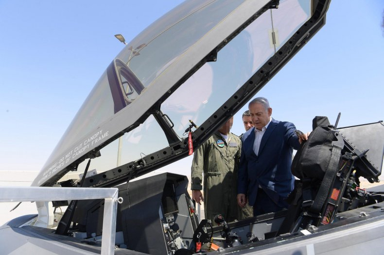 benjamin netanyahu israel jet f35 iran