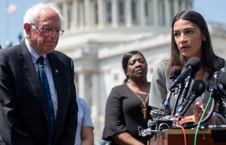 Sanders and Ocasio-Cortez