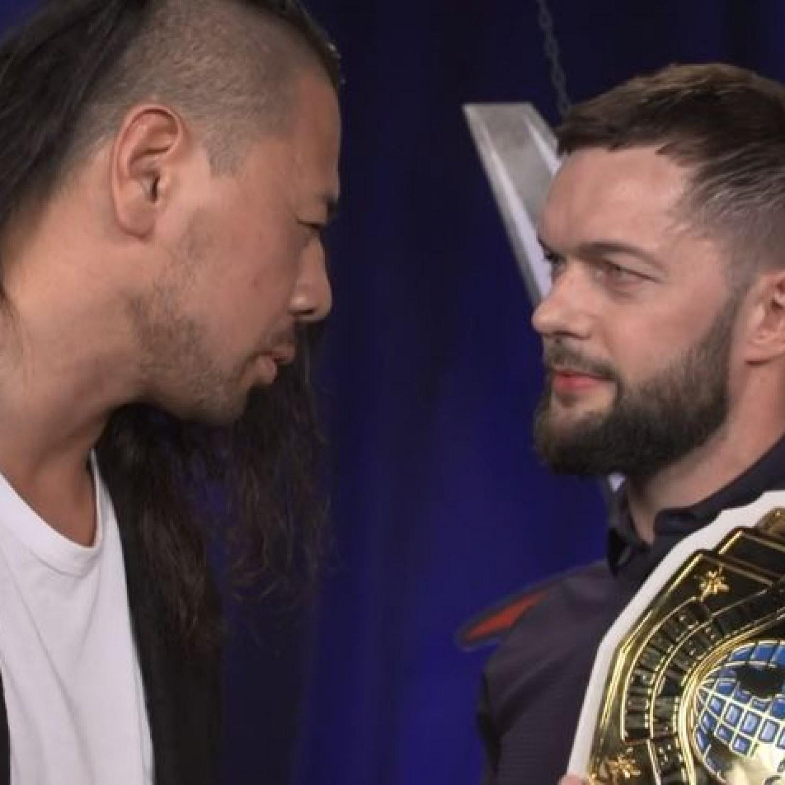 WWE SmackDown Live Results: Finn Balor and Shinsuke Nakamura