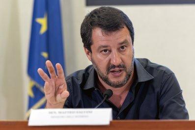 Matteo Salvini Italy Trump Russia