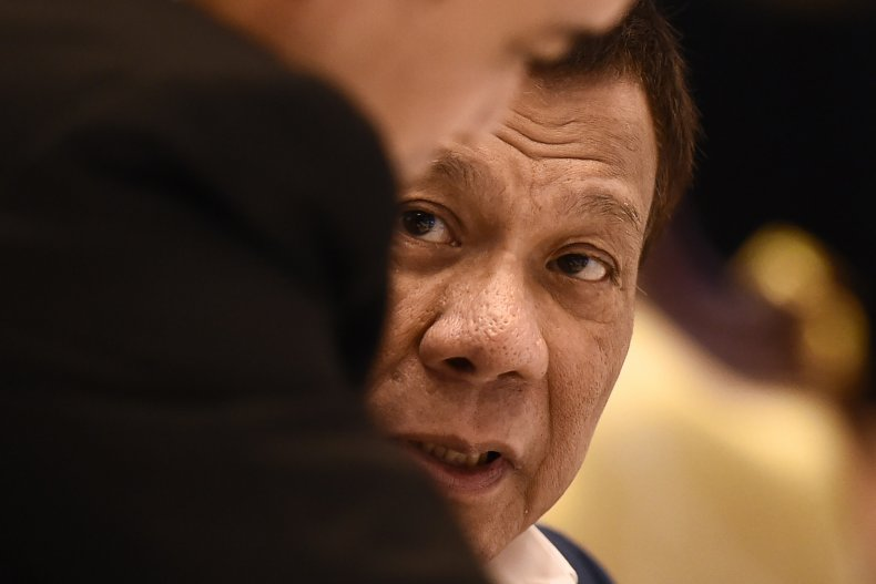 Philippines Rodrigo Duterte military coup
