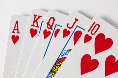 poker, cards, playing cards, stock, getty,