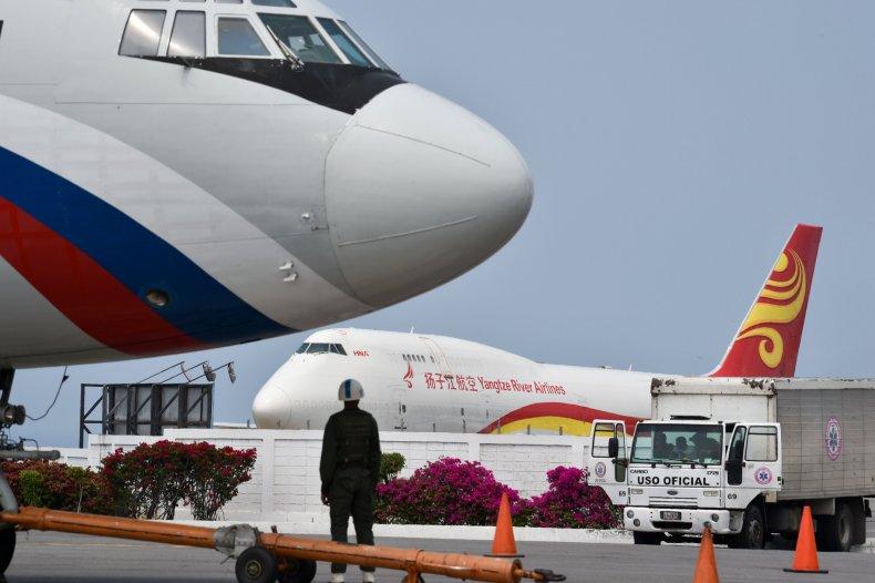 russia china venezuela planes