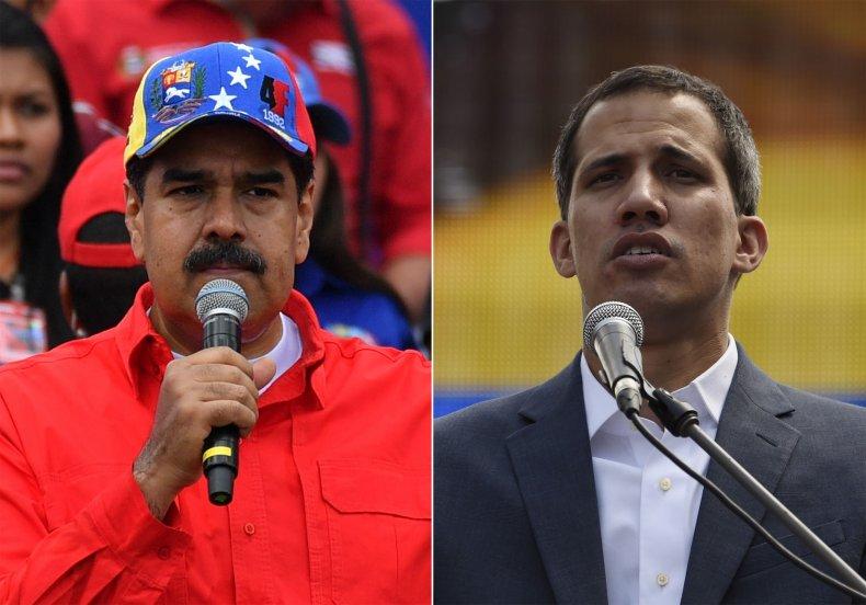 venezuela nicolas maduro juan guaido