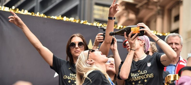 uswnt world cup veuve clicquot women's soccer