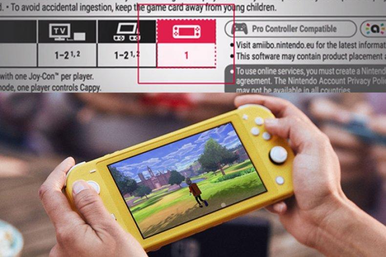 nintendo switch lite handheld compatibility games