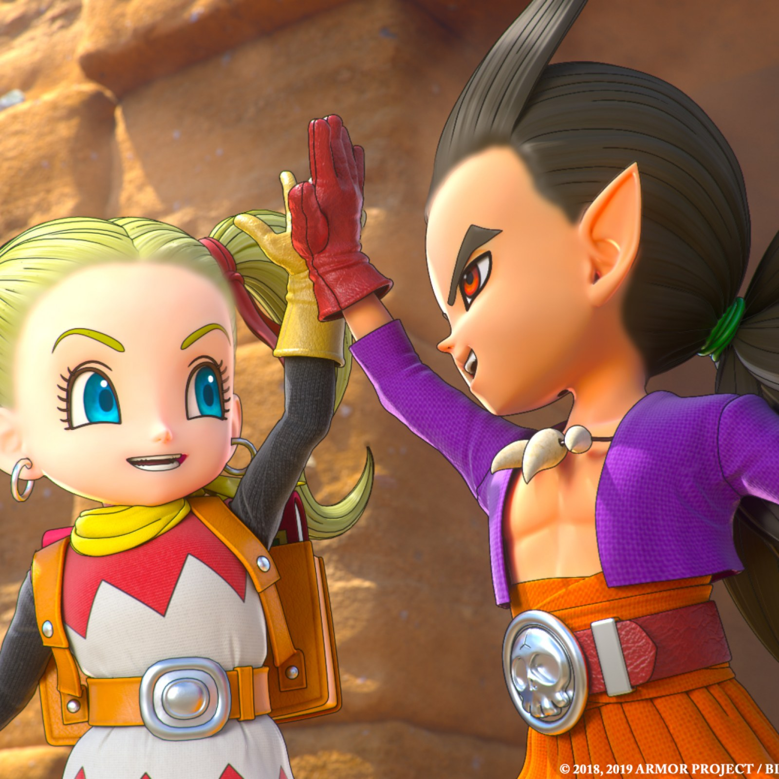 Dragon Quest Builders 2 Review Engaging Story Massive World Keep The Builder S Block At Bay