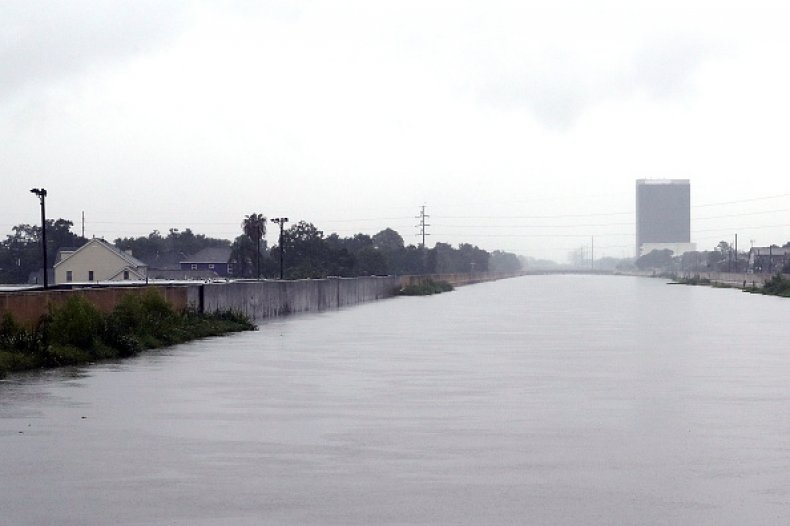 New Orleans Hurricane Flooding