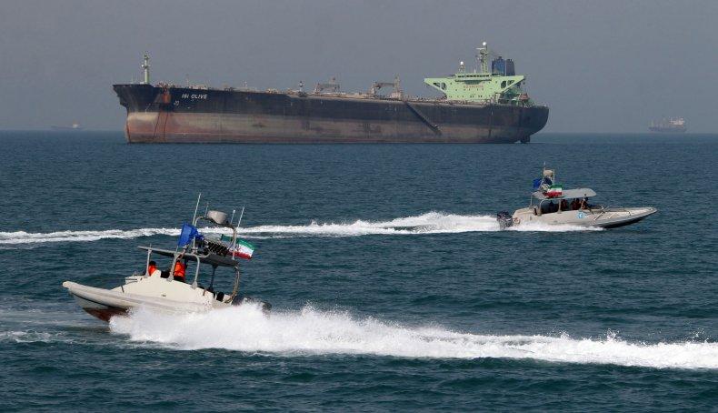 Iran, boats, seize, British, tanker