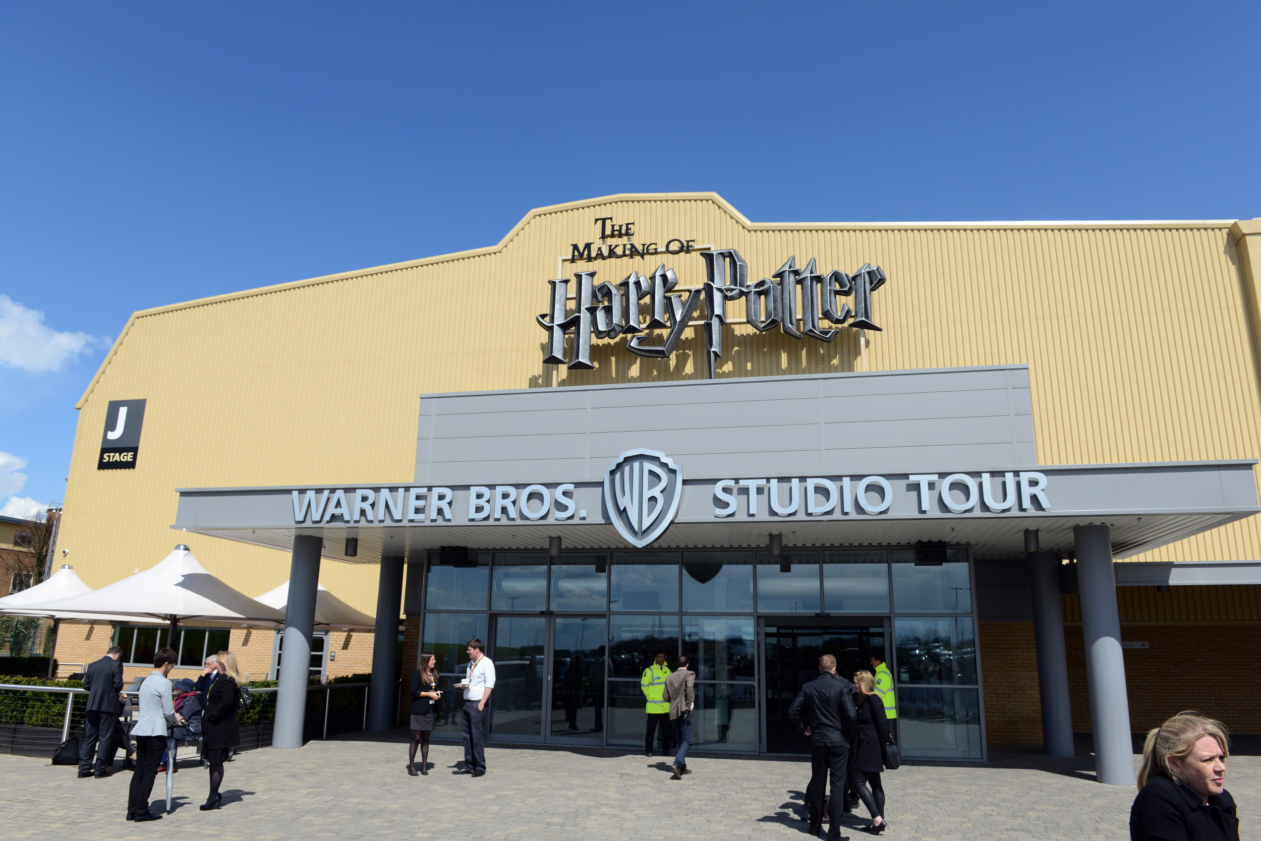 Harry Potter: 18 Firetrucks Tackle Blaze at Warner Bros Studios