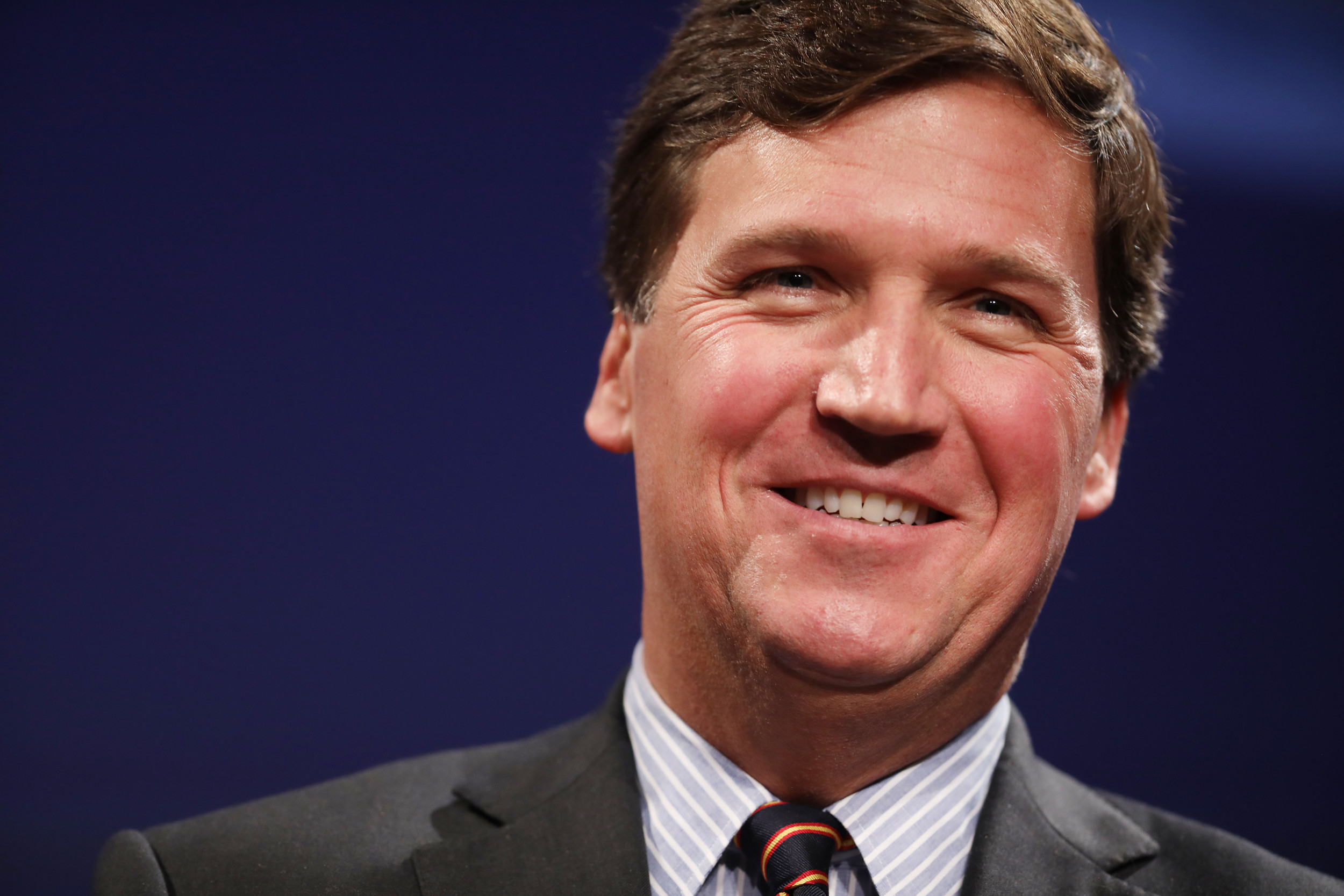 Tucker Carlson Says Fox News Has 'Got Our Back' After Ilhan