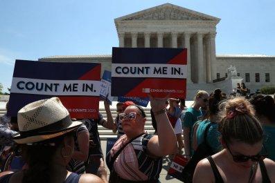 2020 Census protest