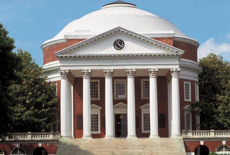 university of virginia charlottesville thomas jefferson