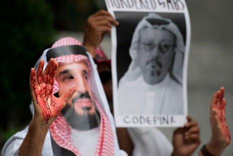 Protester for Khashoggi