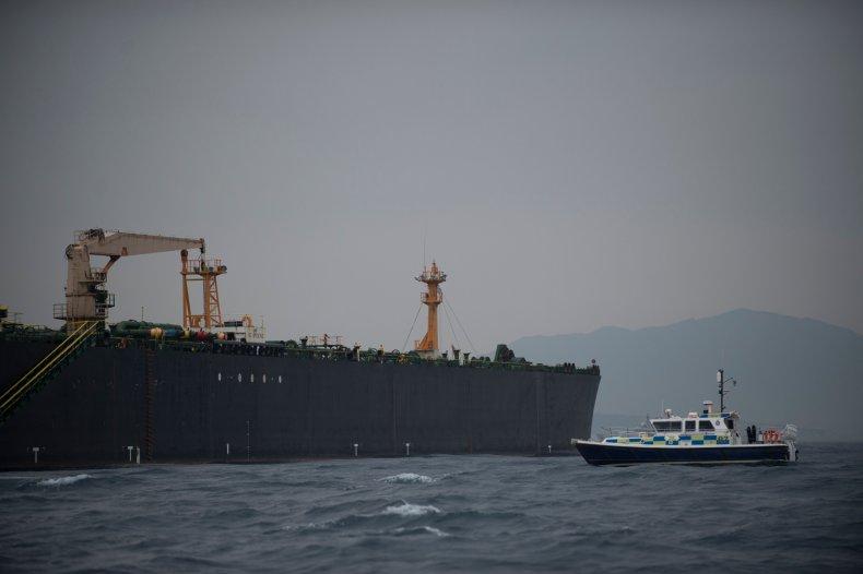 iran uk ship oil tanker