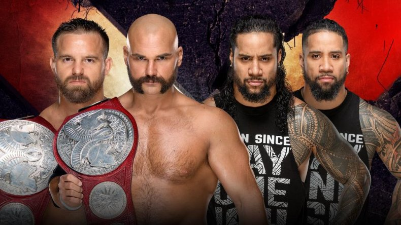wwe extreme rules revival vs the usos
