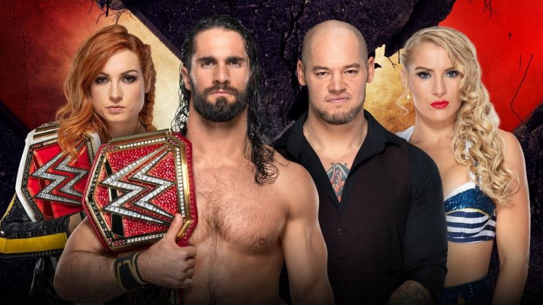 wwe extreme rules seth becky corbin lacey
