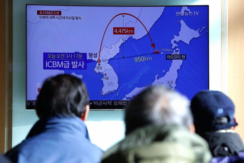 North Korea, ICBM, US