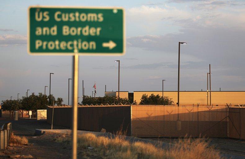 border patrol facility in texas
