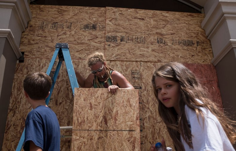 tropical storm barry evacuations parish
