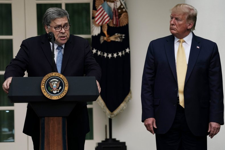 William Barr, Donald Trump, Joe Scarborough,