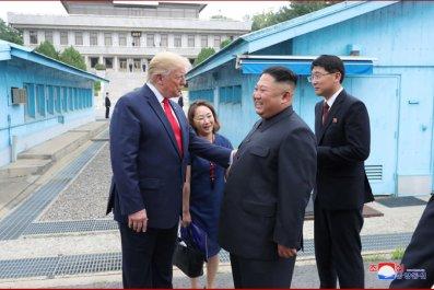 kim jong un donald trump border
