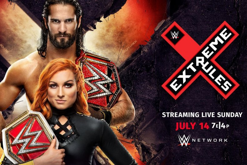 wwe extreme rules 2019 start time online