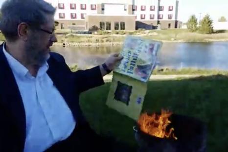 paul dorr book burning