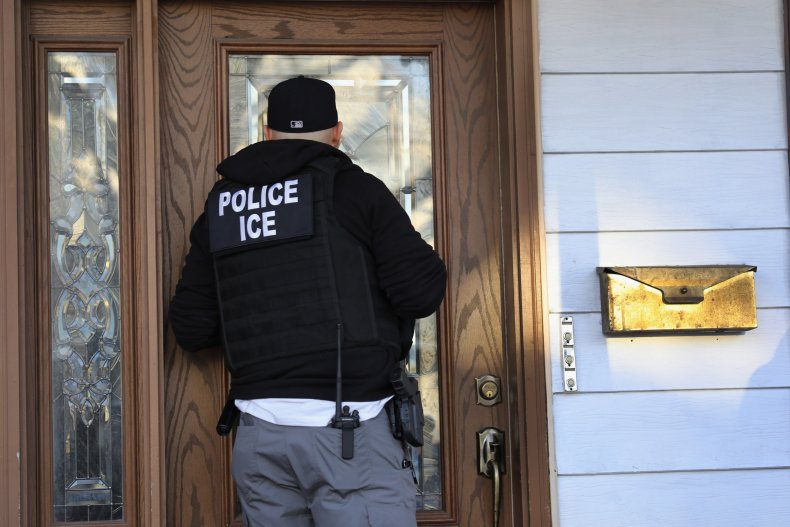 ICE Arrests Undocumented Immigrants
