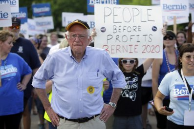 Bernie Sanders Says Nancy Pelosi Is a 'Little Bit' Too Tough on Alexandria Ocasio-Cortez