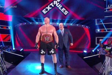 brock lesnar universal champion extreme rules results