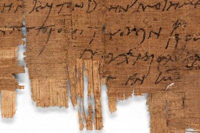 Christian, Roman Egypt, papyrus