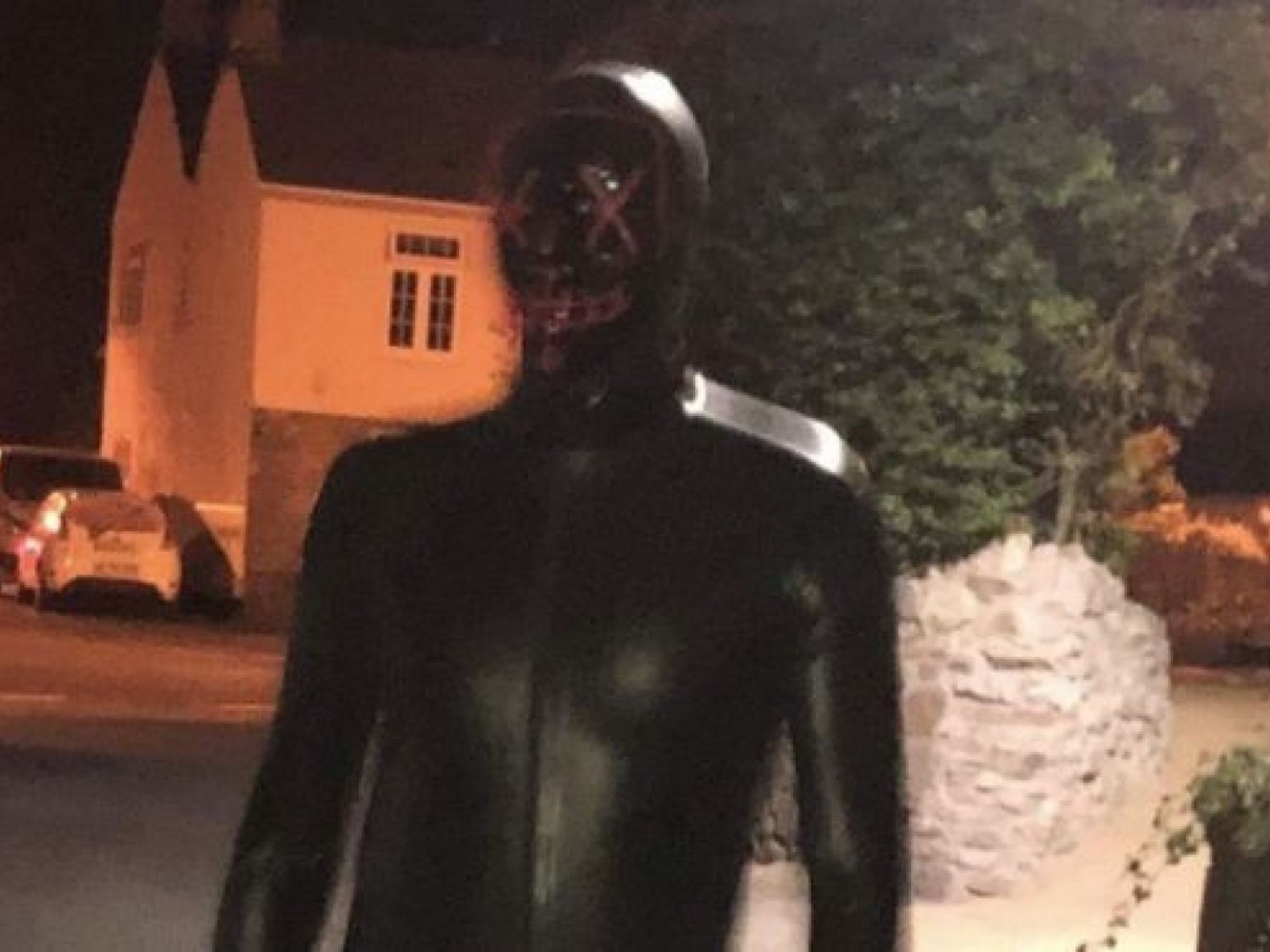 Man In Rubber 'Gimp' Suit Terrorizes Small English Town