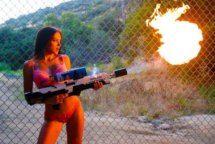 escobar flamethrower