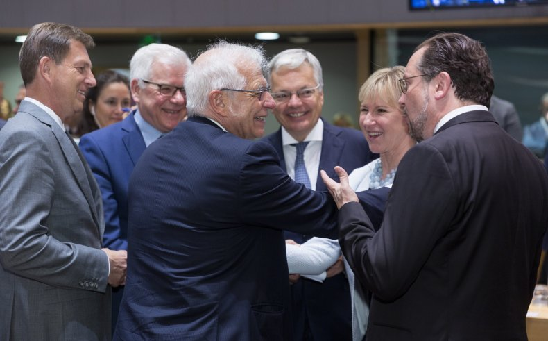 eu foreign ministers iran deal