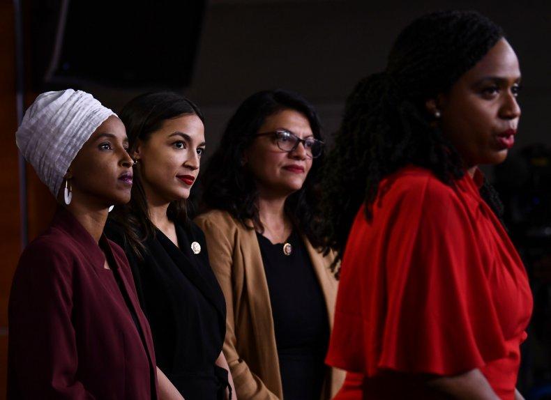 The Squad Slams Trump Racist Tweets