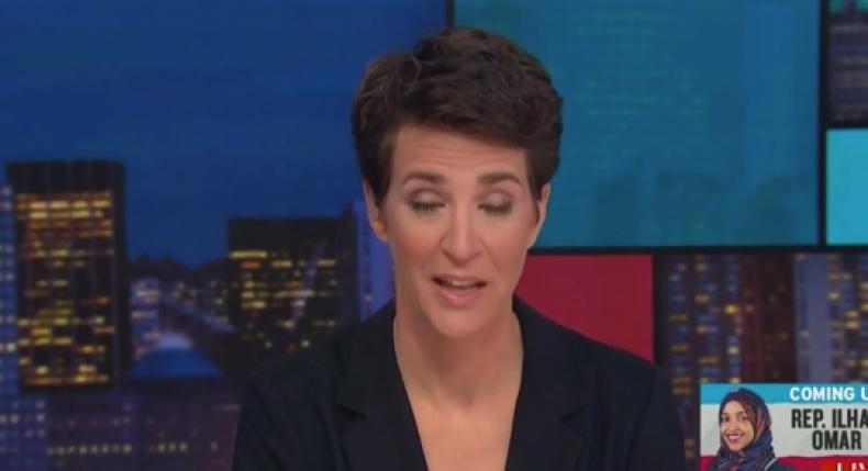 Rachel Maddow MSNBC Trump