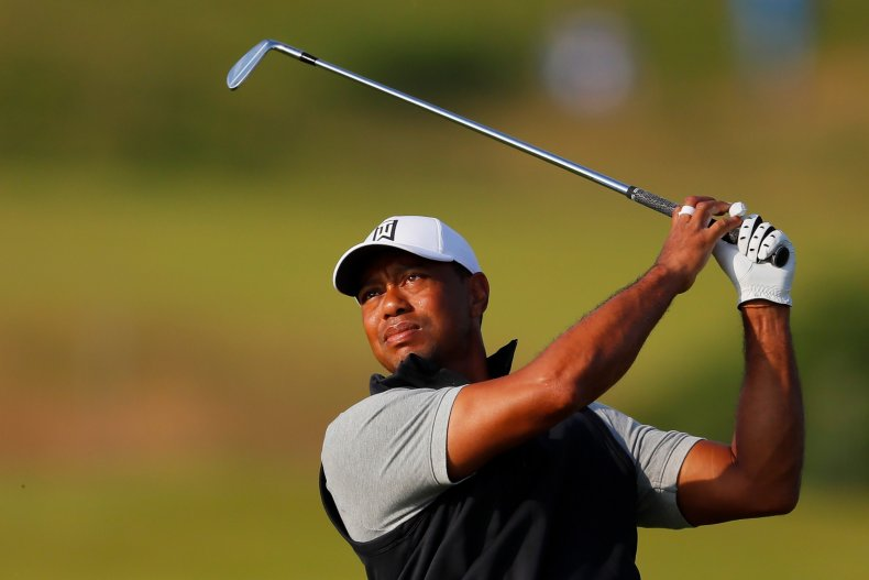 Tiger Woods, The Open