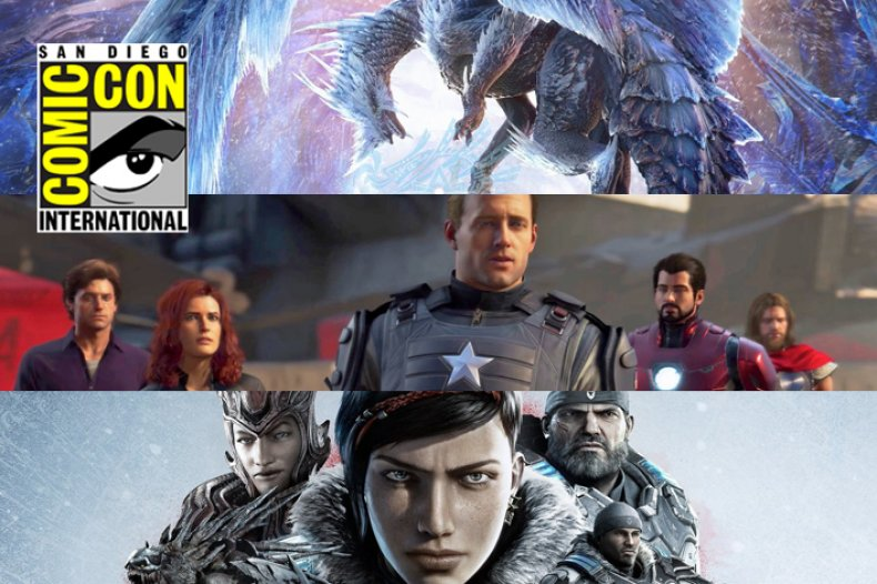 sdcc video game panels schedule monster hunter