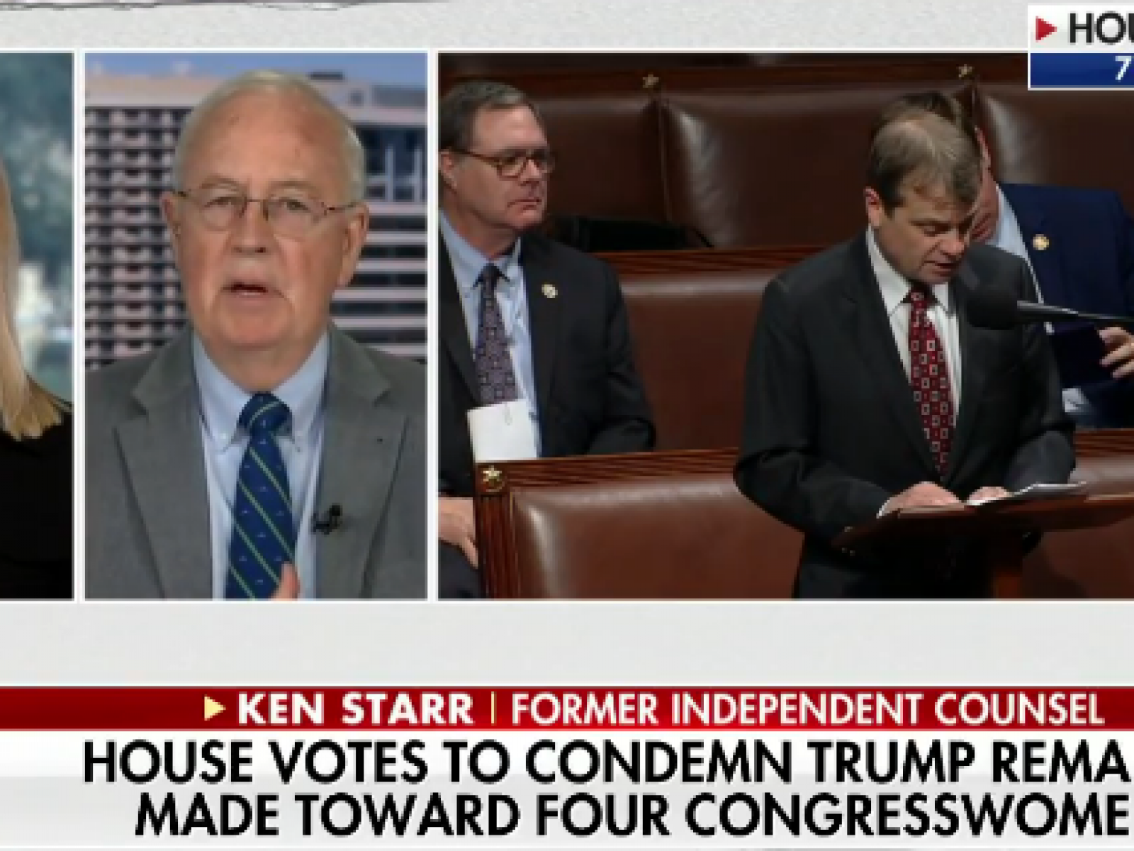 Ken Starr Says Trump Racist Comments Not An Impeachable Offense