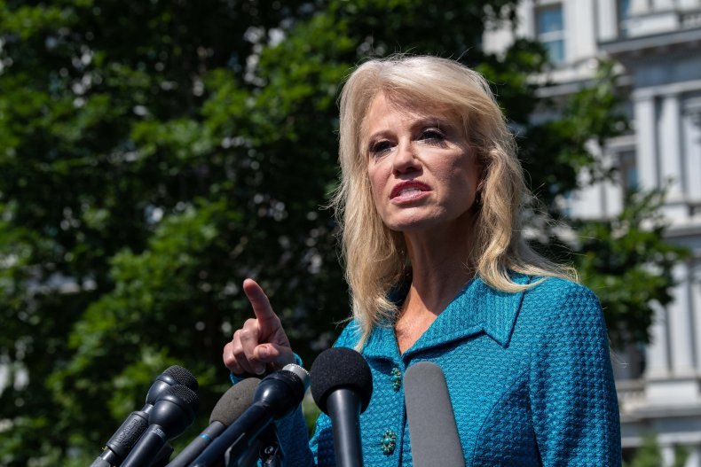Kellyanne Conway, George Conway, Donald Trump, racist