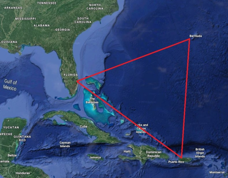 Bermuda Triangle Facebook event Area 51 raid