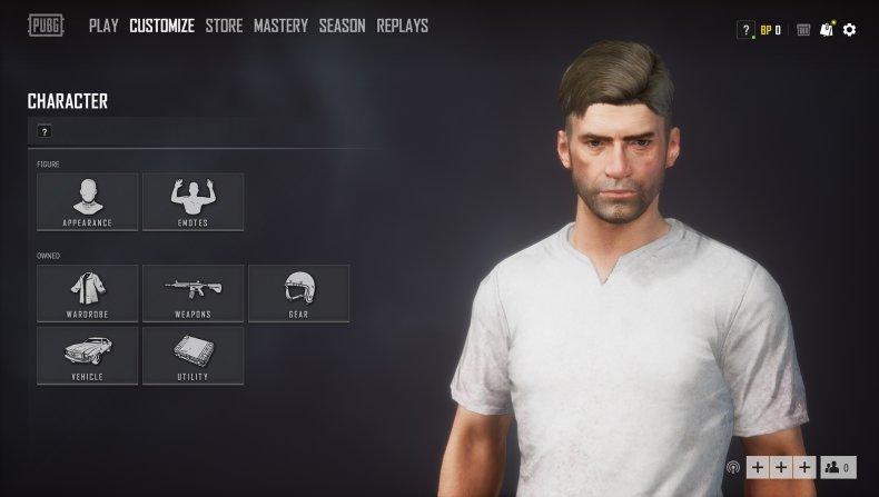 pubg character update 41