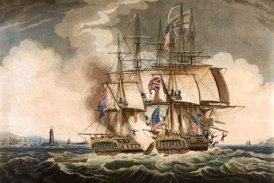 revolutionary war ship