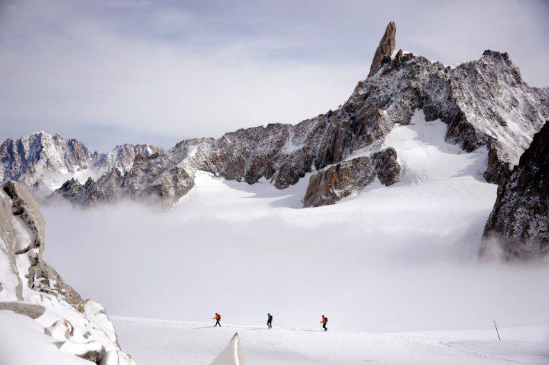 Dent du Géant, Alps, France