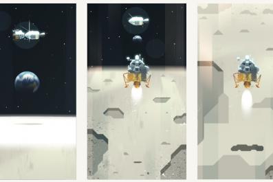 google doodle apollo 11 moon landing anniversary