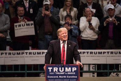Trump North Carolina Rally Racist