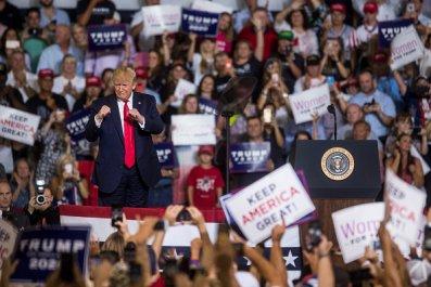 President Donald Trump NC Rally