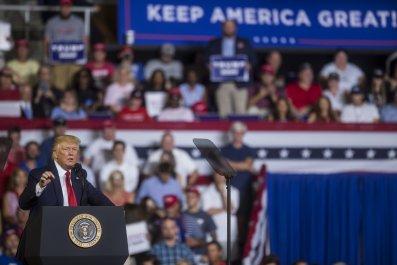 Donald Trump NC Campaign Rally