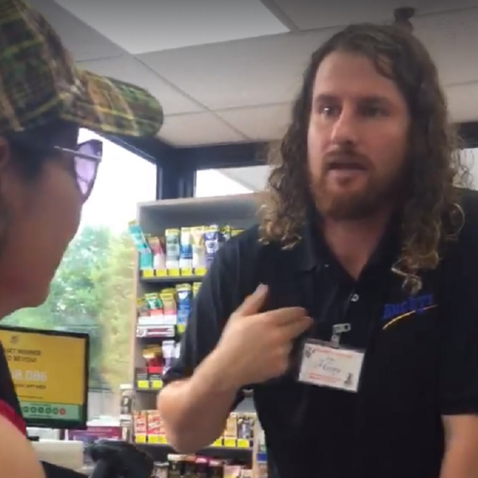 Viral Video Shows Bucky's Gas Station Clerk Abusing Mexican